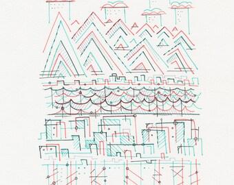 Original Drawing 182