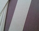 bookmark blanks 2.5 x 8.5 inch (6.25 x 21.59 cm)  raw chipboard