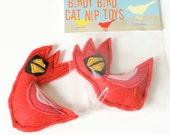 BIrdy Bird Catnip Cardinal for Kit Kats