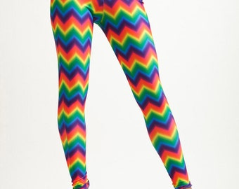 High Waisted Rainbow Brite Leggings