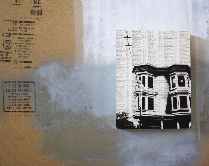 San Francisco Atlas Page Print - Architecture
