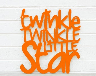 Twinkle Little Star Sign, Nursery Quote Sign, Motivational Sign, Wood Quote Sign, Famous Quote Sign, Wood Meme Sign, Funky Wood Sign