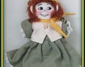 Doris Marie - Elmers Little Sister Victorian Girl Handmade Art Doll