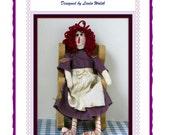 Primitive Annie Raggedy Ann Doll E-Pattern