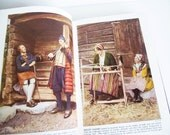 Vintage Costume Book - Lands and People Vol. 2 - Europeans in the 1940s - Design Reference