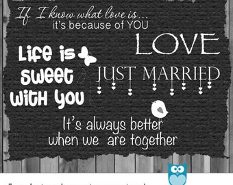 Love Word Art Overlay File In And Photoshop File Format ...