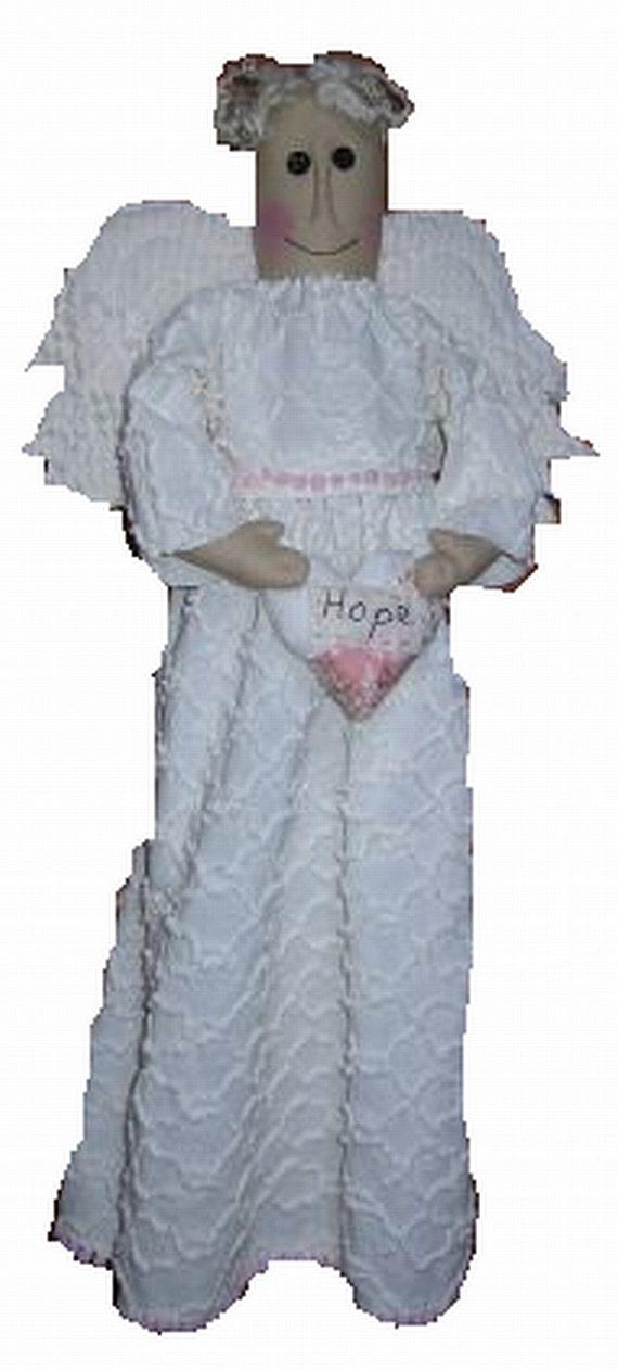 Angel of Hope, Doll E Pattern,  PDF, Downloadable Digital Pattern