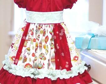 Girls Christmas Nicolle Dress - 4/5