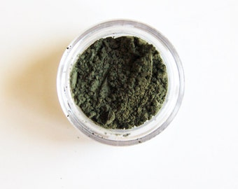 Dirty Clover Eyeshadow & Eyeliner - All-Natural Gentle Vegan Mineral Makeup Green