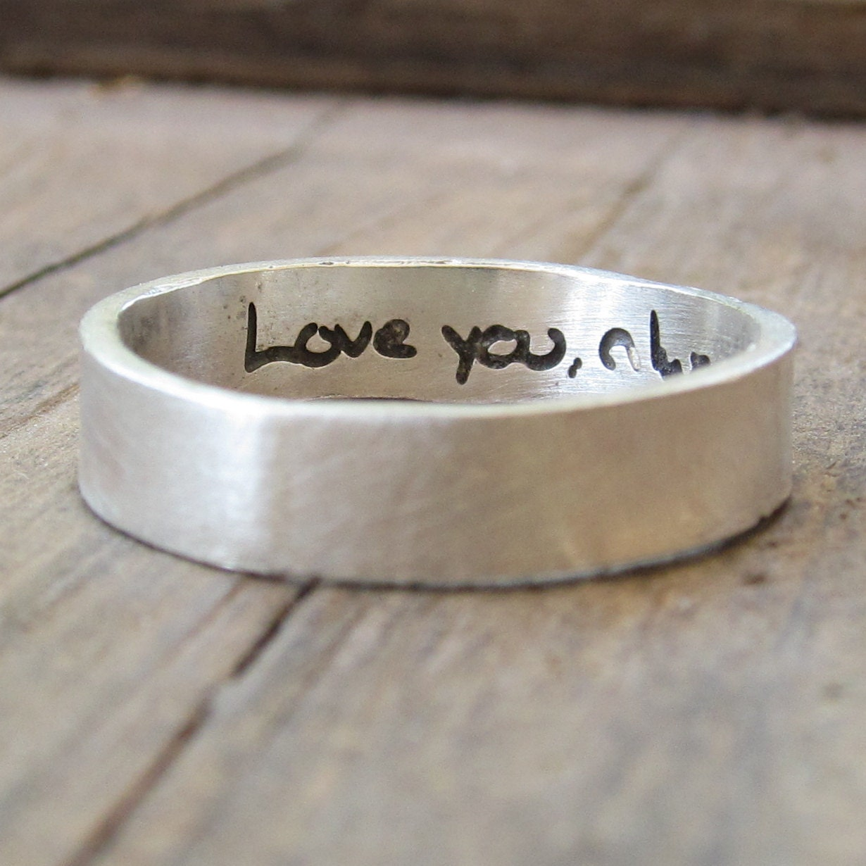 Etsy Mens Wedding Bands