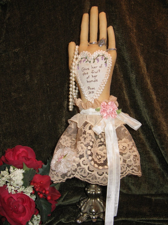 Cloth Doll E-Pattern 16in Beautiful Ring Holder epattern