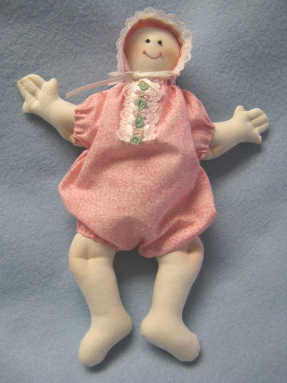 Cloth Doll E-Patterns 10 inch Baby Doll (Easy) epattern