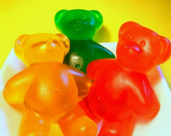 Gummy Bear Soap - Large Sized - Birthday gift - Get well soon - candy soap - gummi bear soap