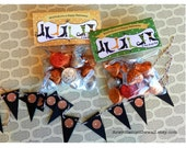 Halloween Treat Bag Tags Witching you a Happy Halloween-Treat Bag Toppers-Parties at home or school  Party Favor