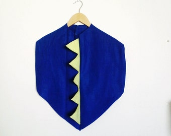 Dinosaur Cape, Halloween Costume or Dress Up Cape for all ages