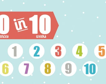 10 in 10 Personal Progress Challenge Cards (pdf download)