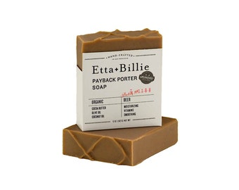 Payback Porter Soap Organic Ingredients Vegan 5 oz