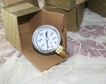 Vintage Pressure Gauge/Sale