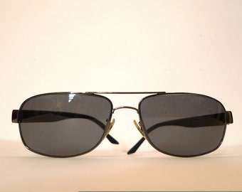 Ray Ban Smoke Metal Aviator Eyeglasses, Prescription Quality Sunglasses Frames sale