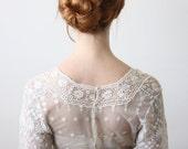 antique dress -  1910's lace wedding dress