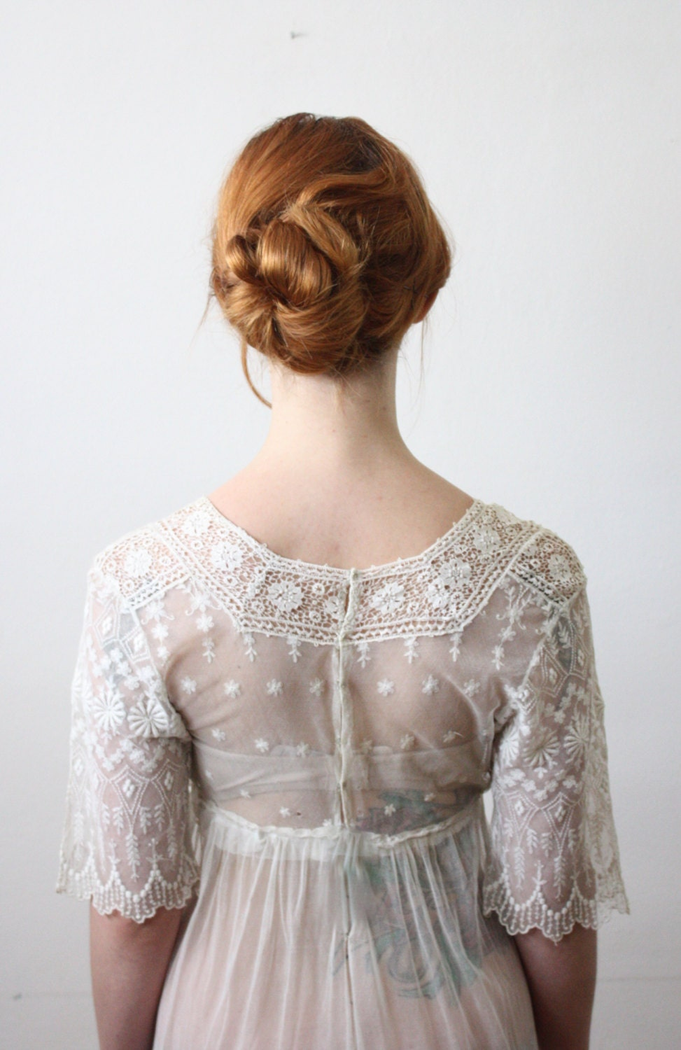 antique dress 1910 s lace wedding dress etsy finds