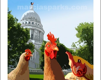 Capitol Chickens