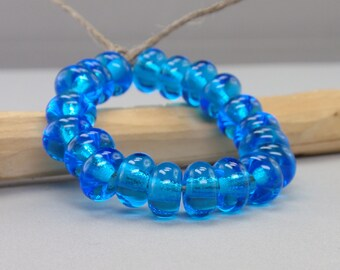 ON SALE - 25 % off - 20 Spacer - Handmade Lampwork Beads - S 16