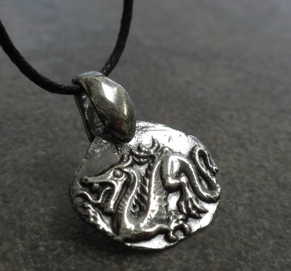 jewelry wax seal necklace
