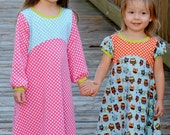 PDF Sewing Pattern: The Playhouse Dress (12mths to 12 years)