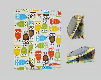 iPad Cover Hardcover, iPad Case, iPad Mini Cover, iPad Mini Case, iPad Air Case, iPad Pro Case, iPad 2, iPad 3, iPad 4 Owls