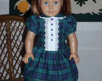 1940s Two Piece School Outfit for American Girl Molly Emily or other 18 inch doll
