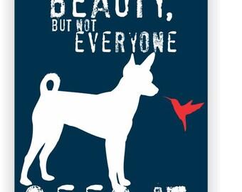 Rat Terrier Art Print Wall Decor Inspirational Series