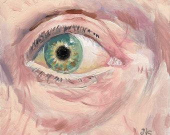 Eye Painting #1  Surprise