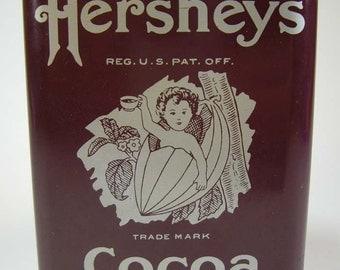 Hershey's Cocoa Tin Coin Bank, 1981, Housewares, Home Decor, Tinware  Collectibles