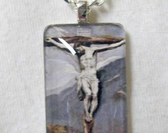 Ecce Homo (Christ) pendant with chain - GP12-003 - 50% OFF