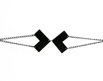 Matte Black Vertex Bracelet