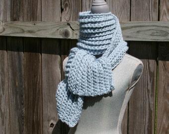 Crochet Pattern Mega Chunky Scarf Pattern Instant Download PDF