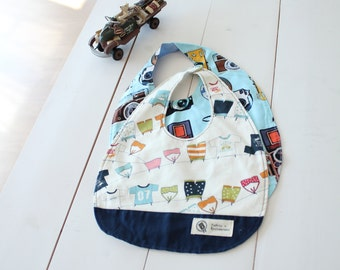 no 87 Cassidy Baby Bib PDF Pattern(2 Patterns)