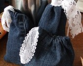 RESERVED CUSTOM ORDER: Renee Denim and Diamonds Lot of 10 Gift Bags