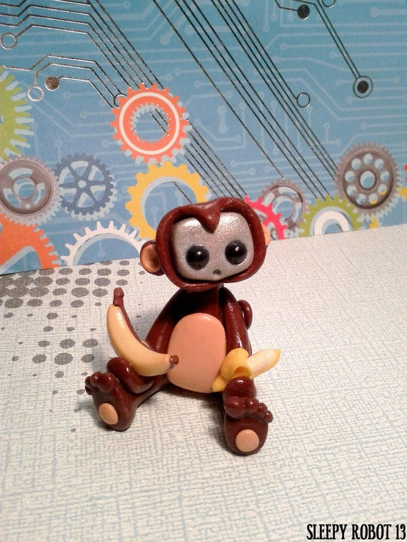 Robot in a monkey costume