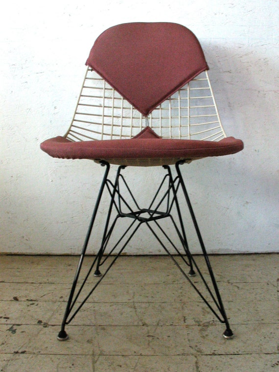 Herman Miller Charles Eames Wire DKR Chair Eiffel By