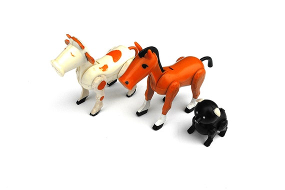 Horse Toys For Boys : S fisher price farm animals barn toy little people horse