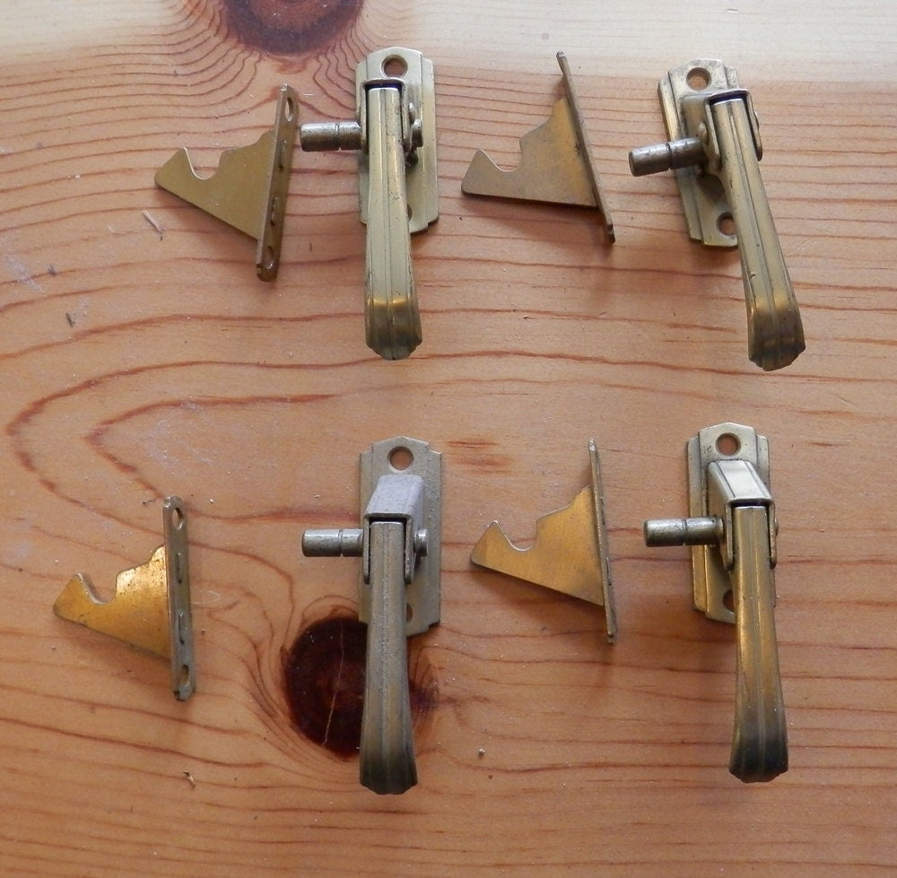 3/8 Offset Vintage NOS Kitchen Cabinet Latches By
