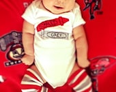 "Crayons ""My favorite colors:Scarlet & Grey"" Baby Bodysuit, great bodysuit for Ohio State fans, or CUSTOMIZE them to YOUR ""favorite colors"""