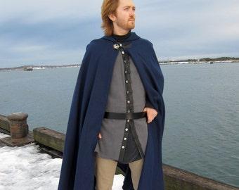 Denim Pirate Vest - Charcoal