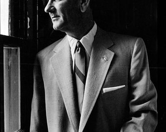 LBJ Lyndon Johnson President of the United States image