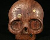 Antiqued Skull belt Buckle