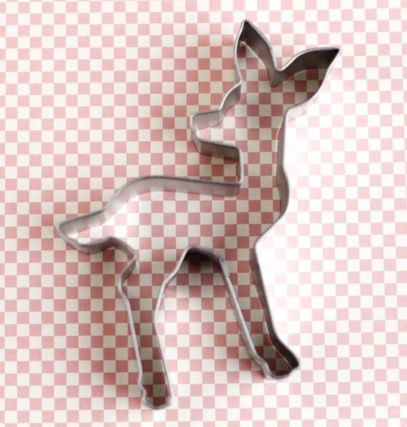 fawn cookie cutter deer cookie cutter