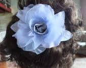 Bridal Hair Comb, Handmade Silk Flower Hair Accessory, Wedding Fascinator
