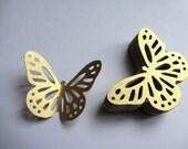 Paper butterflies 50 die cut butterflies, die cuts, wedding decorations, scrapbooking, weddings, gold butterflies